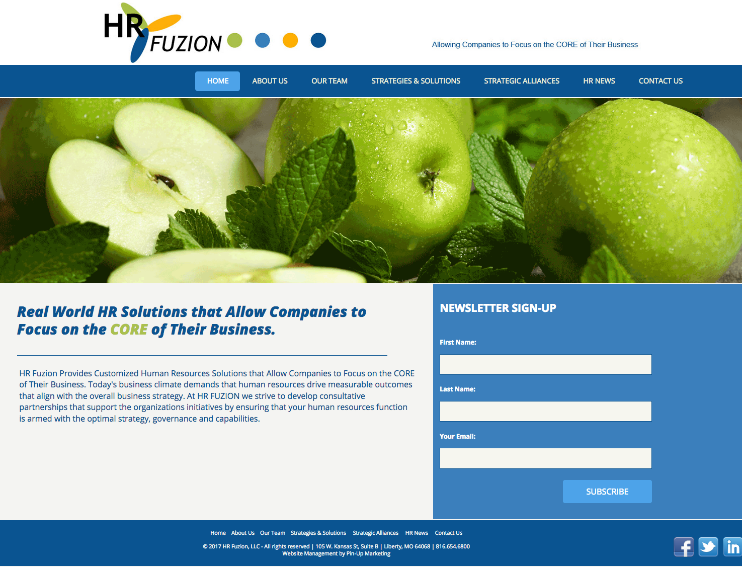 HR Fuzion, LLC